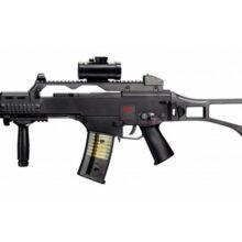 """Airsoftový manuálny samopal """"Umarex HK G36C"""" BB 6 mm – čierny"""