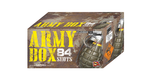 Army box 84 rán, multikaliber 30 + 50mm