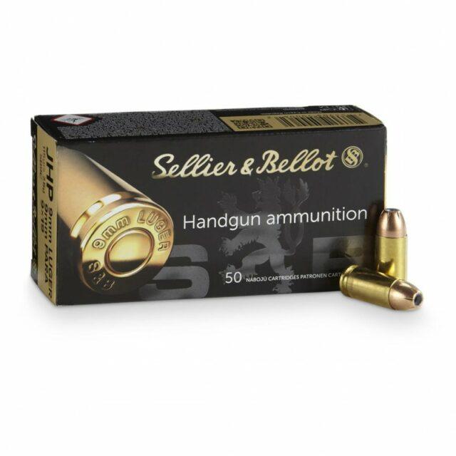Sellier & Bellot 9mm LUGER JHP 7,5g/115grs (50 ks)