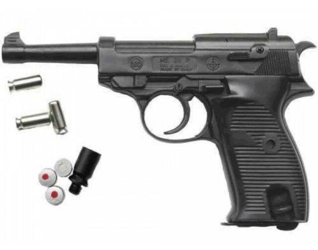 Pištoľ plynová BRUNI P38, kal. 8mm P.A.K. – čierna
