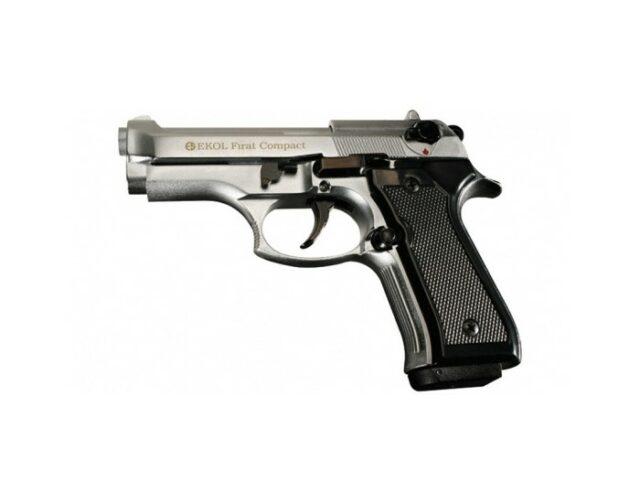"""Pištoľ plynová """"Ekol Firat Compact 92"""" – chróm 9mm"""