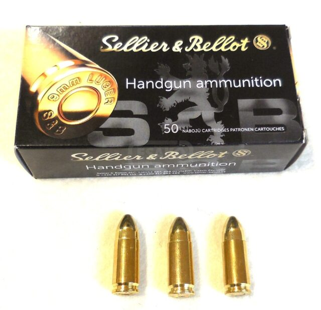 Sellier & Bellot 9mm BROWNING COURT/.380 AUTO (50 ks)