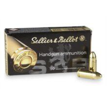Sellier&Bellot 9mm LUGER FMJ, 7,5g/115grs (50 ks)