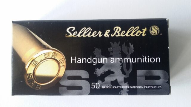 Sellier & Bellot 6,35 Browning FMJ (50 ks)