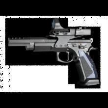 CZ 75 TS CZECHMATE 9mm MAJOR / 9×19