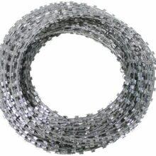 Drôt ostnatý – žiletka, pozinkovany – 50m