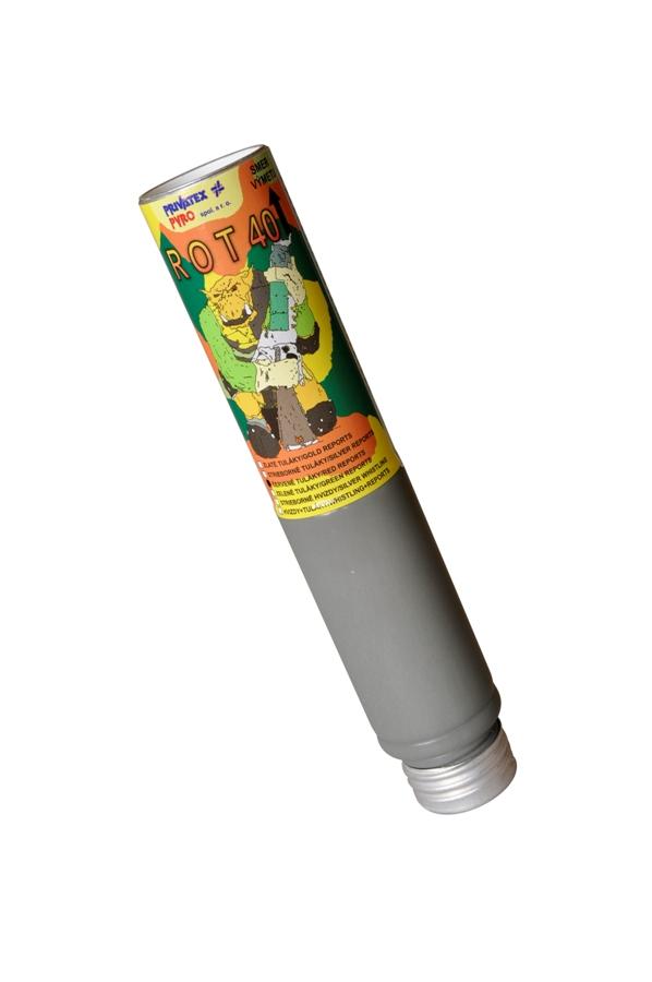 ROT 40 – červené tuláky s výbuchom