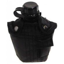 Fľaša poľná 1L – čierna