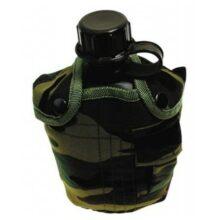 Fľaša poľná 1L – woodland