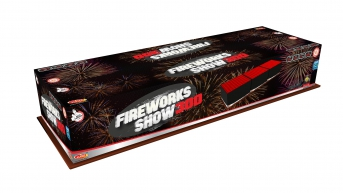 Fireworks show 300 rán, kaliber 25mm
