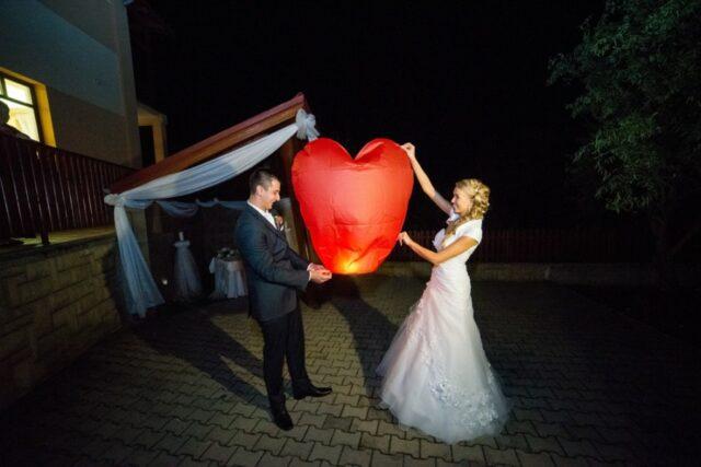 Ohňostrojná svadobná zostava PROFI