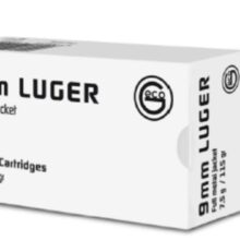 GECO 9mm LUGER FMJ 7,5g/115gr (50 ks)