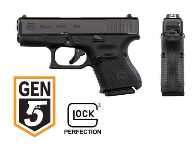 GLOCK 26 Gen 5 EU FXD 6,1, 9×19
