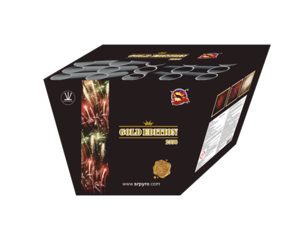 Golden edition – vejár 25 rán, kaliber 50mm