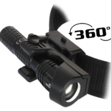 """Puzdro rotačné ESP """"LHU-04"""" pre taktické svietidlá"""
