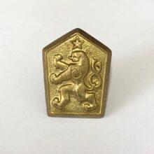 Odznak ČSĽA lev – zlatý