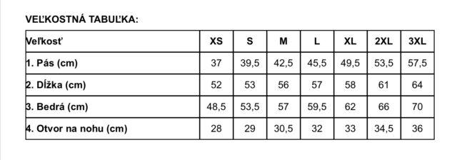 Nohavice BDU short R/S MFH 01512F – béžové