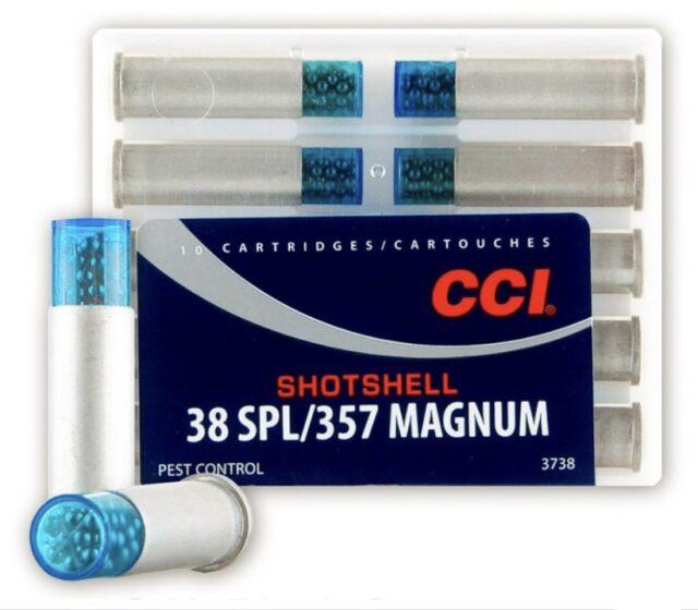 Náboj CCI brokový .38Sp./.357Mag. Shotshell (10 ks)