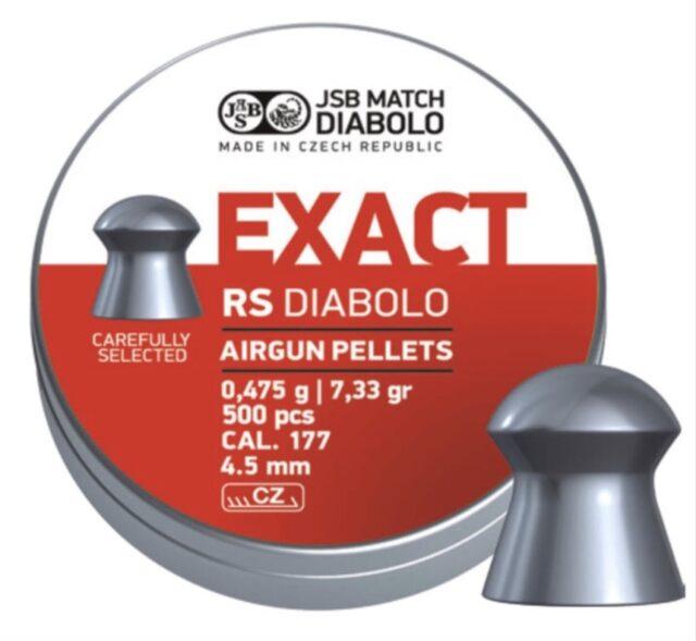 JSB Exact RS 4,52mm, 500ks