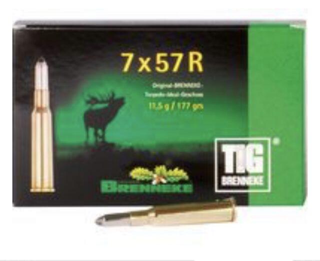 Náboj Brenneke 7x57R TIG 11,5g (1ks)