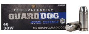 40SW Federal Premium Guard Dog 135gr/8,75g
