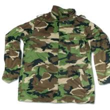 """Kabát originálny armádny OS SR """"vz.97"""" kongo, maskovací"""