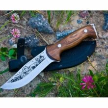 Nôž lovecký KIZLYAR Drofa Classic – strieborný