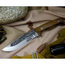 Nôž lovecký KIZLYAR Fazan – strieborný