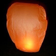 Lampión oranžový