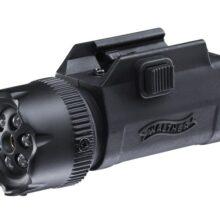 Laserový zameriavač s baterkou Walther FLR650