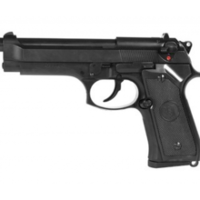 Airsoftová plynový pištoľ Beretta M9 Vertec Full Metal – BlowBack, GAS BB 6mm