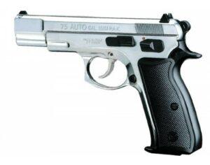 """Pištoľ plynová Kimar """"mod. 75 AUTO"""" 9mm – chróm"""