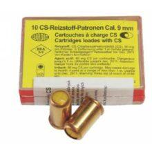 Náboj revolverový plynový Wadie – 9 mm CS (10 ks)