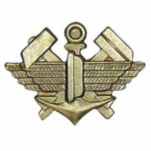 """Odznak """"Technické vojsko"""" – mosadzný"""