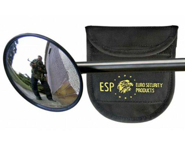 """Taktické zrkadlo """"ESP"""" M2 pre teleskopické obušky s púzdrom"""