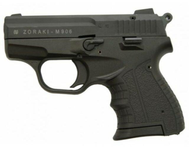"""Pištoľ plynová """"Atak Zoraki 906"""" cal. 9mm P.A. – čierna"""