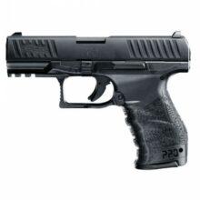 """Airsoftová manuálna pištoľ """"Walther PPQ"""" – kovový záver BB 6mm"""