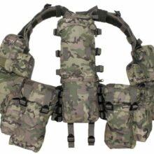 Vesta taktická s 12 taštičkami MFH 30993X – multicam
