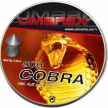 """Diabolky """"Cobra"""" 500 ks, cal. 4,5mm"""