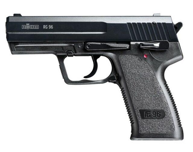 "Pištoľ plynová ""RÖHM RG 96"" čierna – cal. 9mm PA"
