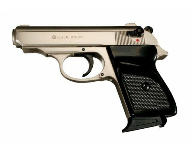 """Pištoľ plynová """"Ekol Major"""" 9 mm PA – nikel"""