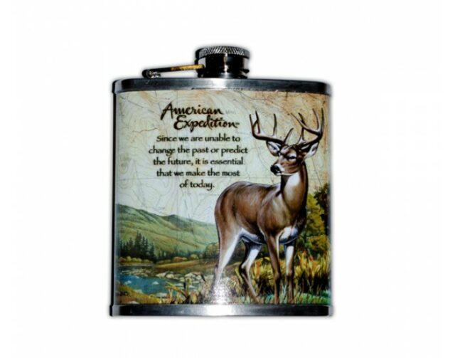 "Ploskačka ""Whitetail Deer"" 180ml – jeleň"