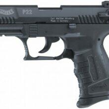 "Pištoľ plynová Walther ""P22"" cal. 9mm PA – čierna"
