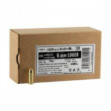Sellier & Bellot 9mm LUGER FMJ, 8,0g/124grs (250 ks)