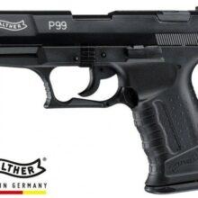 "Pištoľ plynová Walther ""P99"" cal. 9mm PA – čierna"
