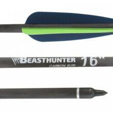 Šíp carbon 16″ Beast Hunter Elite HalfMoon 1ks