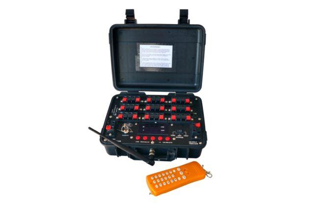 Profesionálne diaľkové odpaľovacie zariadenie 18 SH