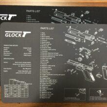 Podložka pod zbrane GLOCK – čierna