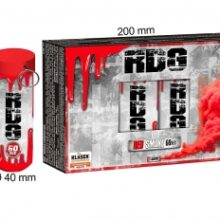 Dymovnica RDG – červená, 5 ks