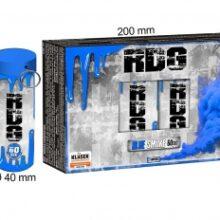 Dymovnica RDG – modrá, 5 ks